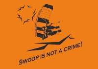 Футболка Swoop is not a crime